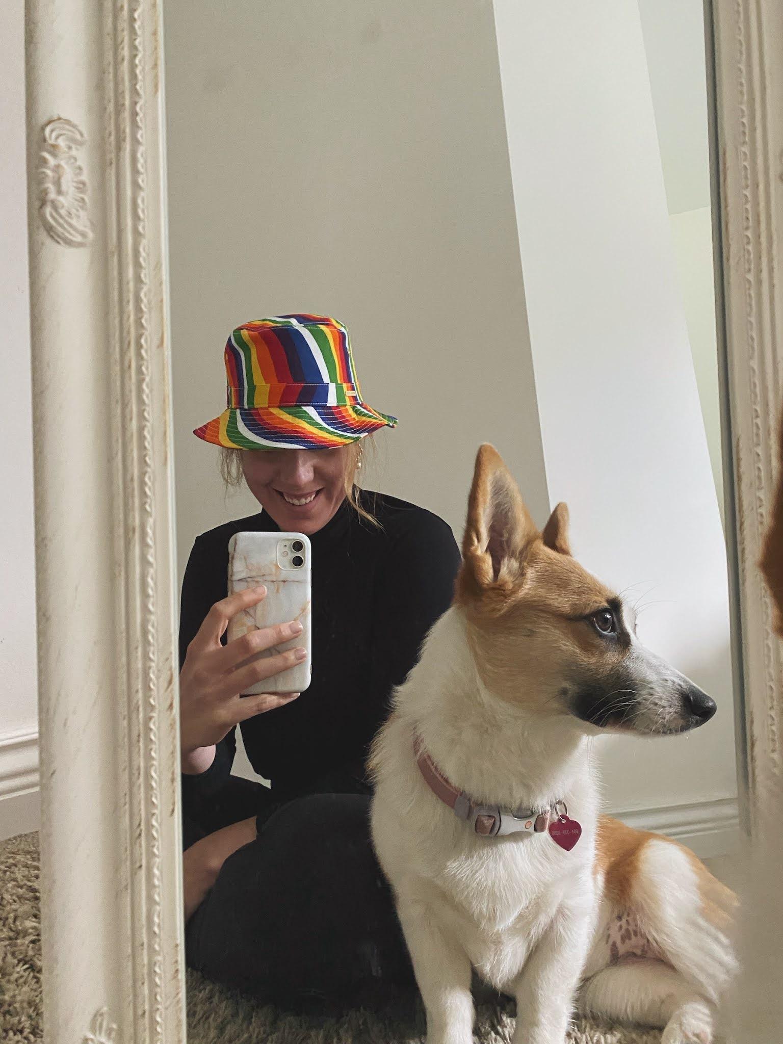 Michael Kors Pride bucket hat