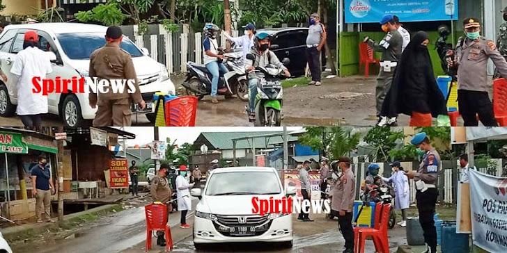 Kapolsek Tamalanrea, Pimpin PSBB Di Batas Kota Makassar – Kab Maros