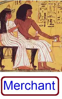 Ancient Egyptian Merchants