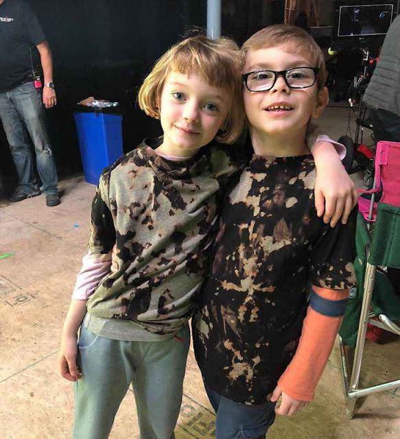 Los niños (actores) de 'La Maldición de Hill House' no le tienen miedo a nada