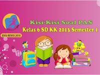 Contoh Kisi-Kisi PAS Kelas 6 Kurikulum 2013 Semester 1