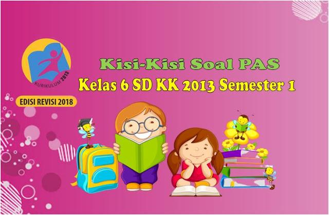 Kisi-Kisi Soal PAS Kelas 6 SD Semester 1 Kurikulum 2013