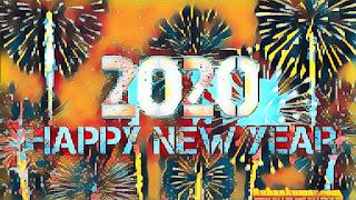 Happy New Year 2020 Wallpaper