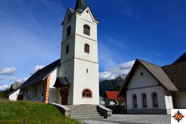 Podkoren - Chiesa di Sant'Andrea