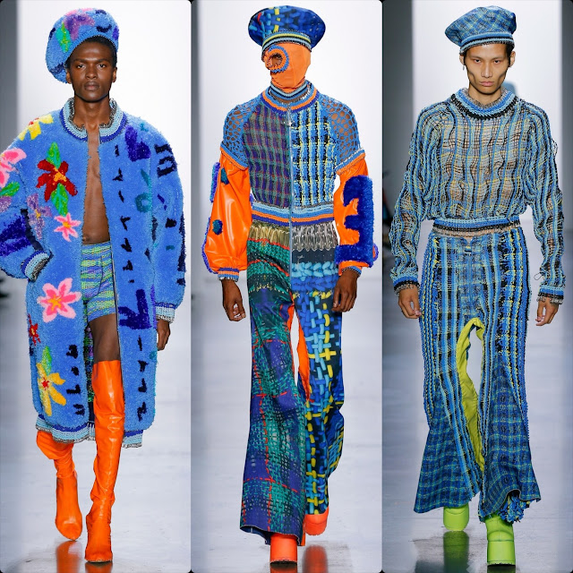 Parsons MFA (Masters of Fine Arts) Spring Summer 2020 New York. RUNWAY MAGAZINE ® Collections. Photo: Courtesy Parsons