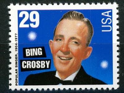 Bing Crosby US Stamp