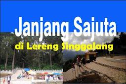 Janjang Sajuta di Lereng Singgalang Bukittinggi-Agam