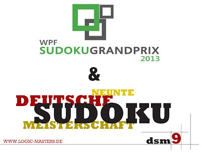 Sudoku Grand Prix 3nd Round: Feb 23 - 24, 2013