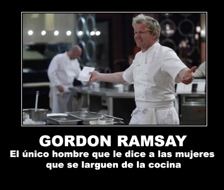 Desmotivacion de Gordon Ramsay (Hell's Kitchen)
