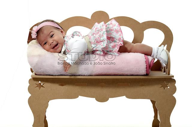 ensaio de fotos mes a mes para bebes