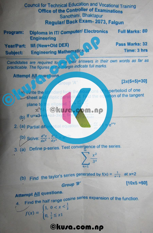 Engineering-Mathematics-III-Question-Paper-2073-II-Year-I-Part-New-Old-DEX-CTEVT