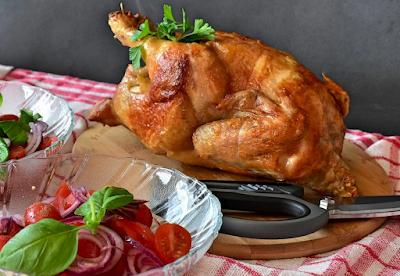 Cara Membuat Abon Jantung Pisang, Acar Ketimun, dan Ayam Panggang Super Enak