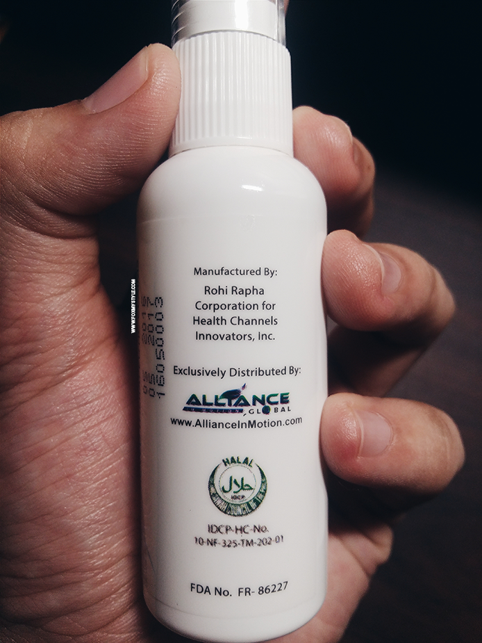 whitelight sublingual gluta spray