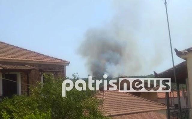 Ηλεία: Τρεις νέες εστίες πυρκαγιάς – Εντολή προληπτικής εκκένωσης στον οικισμό Ηράκλεια