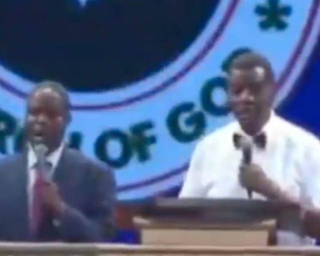 """ You're going to get married next year,"" Pastor Adeboye prays for single men who are single but are losing time (video)"