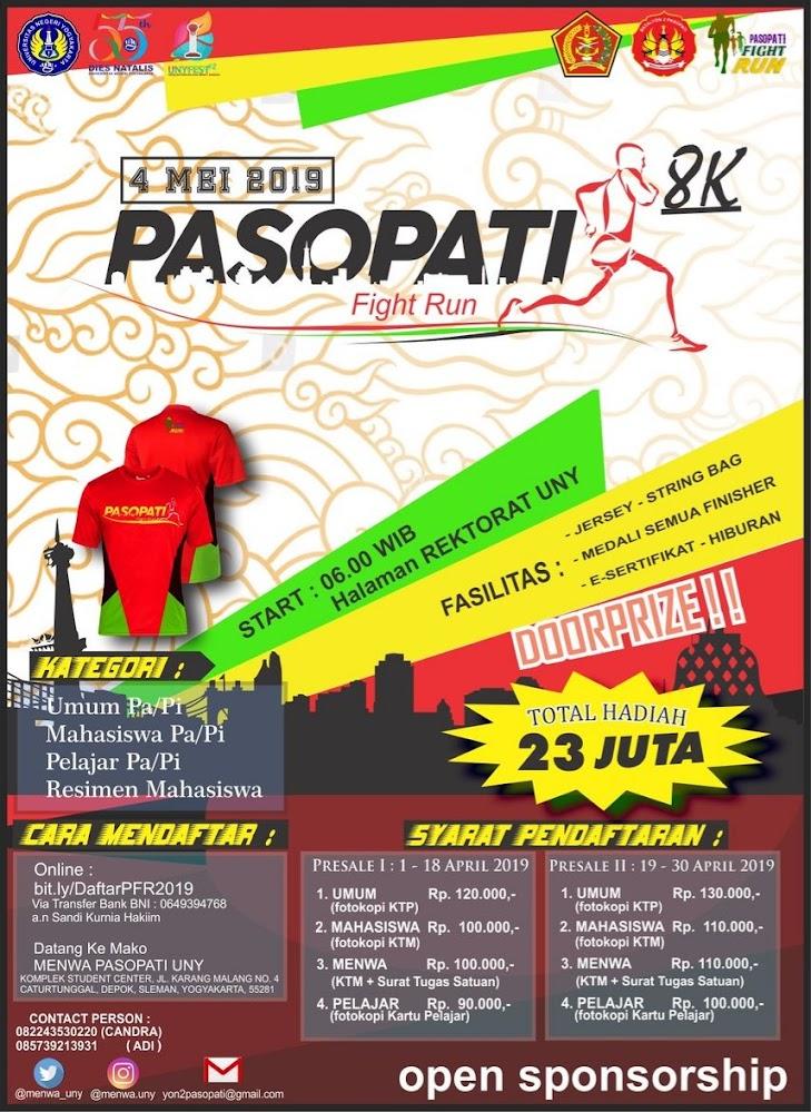 Pasopati Fight Run • 2019