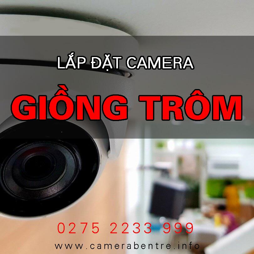 Báo giá lắp đặt Camera ở huyện Giồng Trôm, Bến Tre - Bảo hành 24 tháng