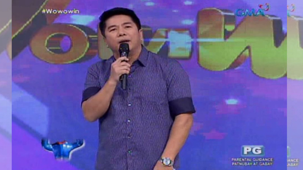 Willie Revillame of GMA Network's variety show 'Wowowin'.