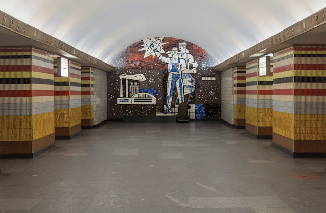 soviet metro stations herwig, tashkent metro stations, art craft small group tours uzbekistan