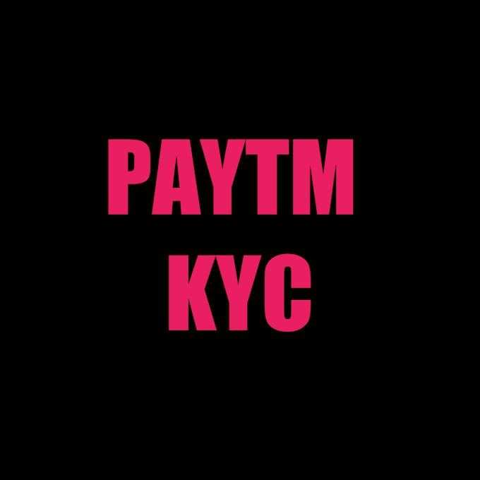 paytm KYC online veryfication at home free paytm bank account