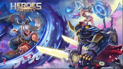 لعبة المغامرات Heroes Infinity مهكرة للأندرويد - تحميل مباشر