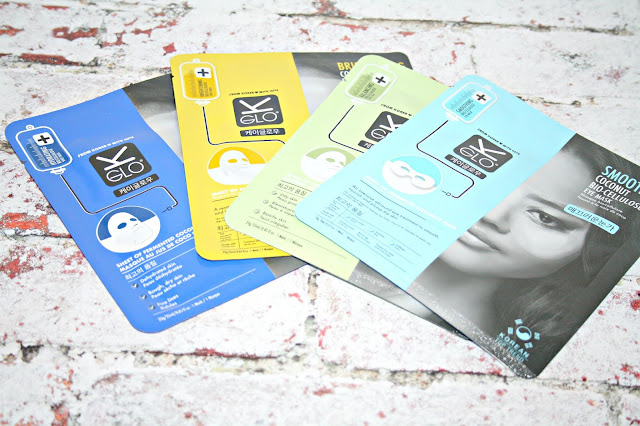 K-GLO Sheet Masks