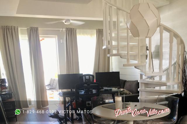 Apartamento en venta en Punta Cana frente a la playa