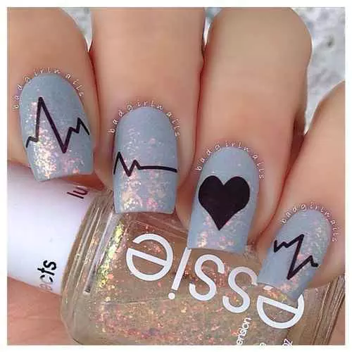 nail design almond color romantic tutorial pretty nail art polish nail christmas holiday  rainbow tattoo abstract cute galaxy love winter spring 2017