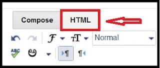 kode html didalam blog