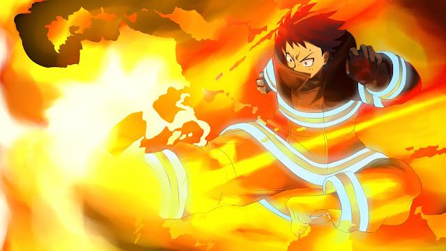 shinra wallpaper fire force