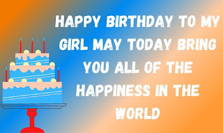 special birthday wishes for daughter