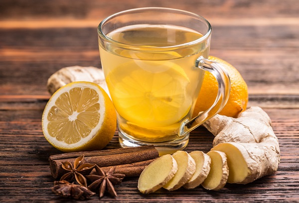 Method of action of hot ginger syrup
