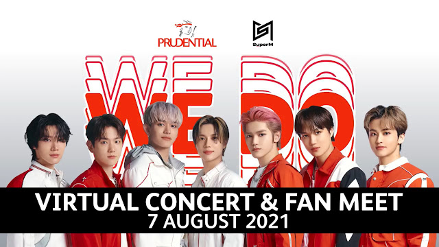 Bangkitkan Semangat Masyarakat, Prudential Gelar PrudentialXSuperM We DO Virtual Concert & Jumpa Fan