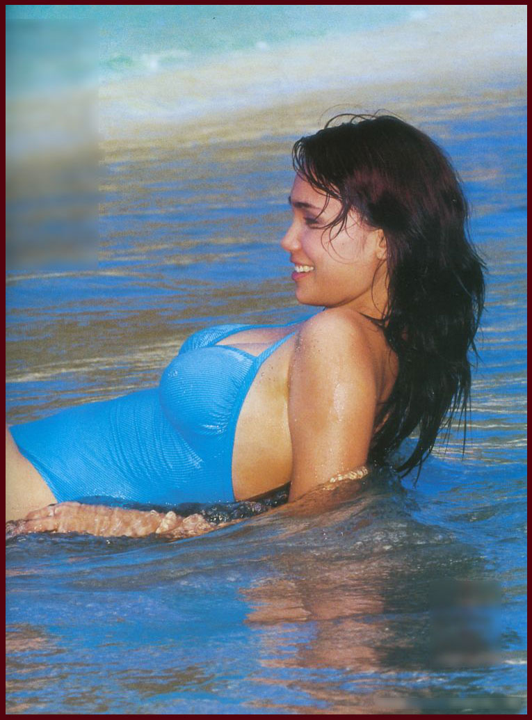 anak nusantara feby febiola sensual swimsuit
