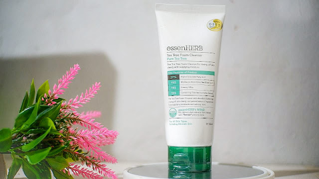 essensherb tea tree foam cleanser