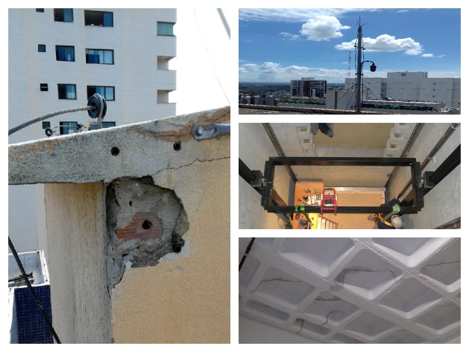 O planos de manutenção deve vir depois da correção das patologias da edificação