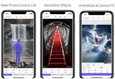 Aplikasi Foto Bergerak iPhone - StoryZ