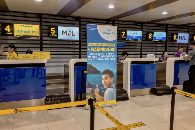 fly to marinduque with cebu pacific