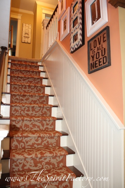A Blissful Spirit Stairway Gets A New Look With Paint