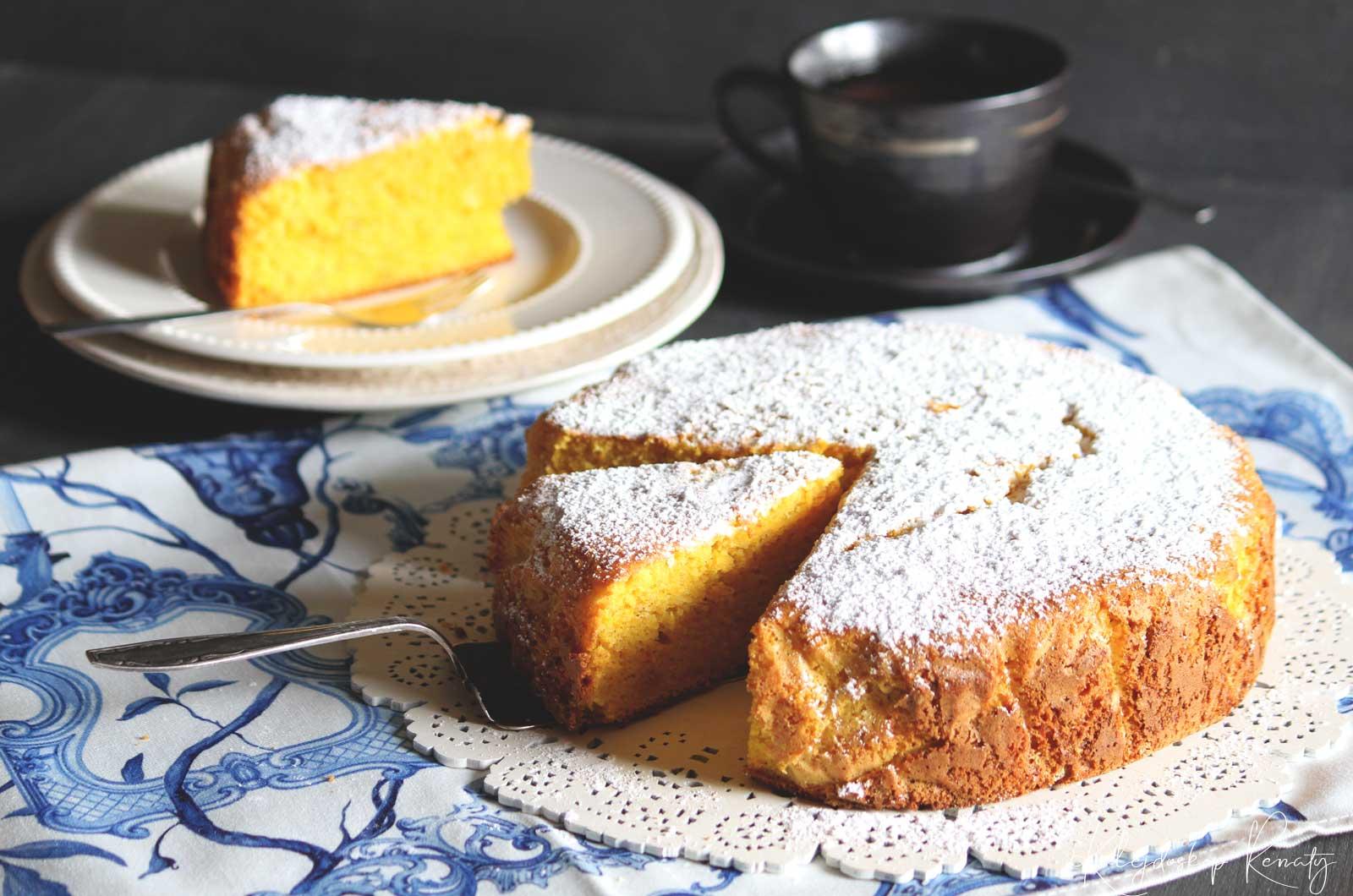 Ciasto dyniowo-migdałowe