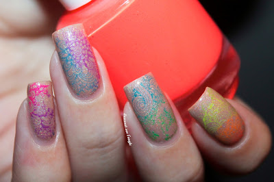 Holi Nail Art // Indian Holiday