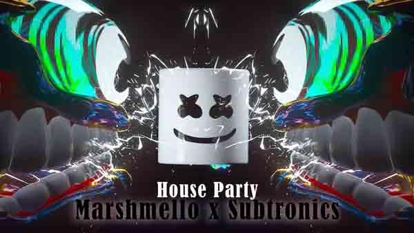 marshmello subtronics house party lyrics