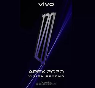 سيأتي هاتف Vivo's Apex 2020 يوم الجمعة