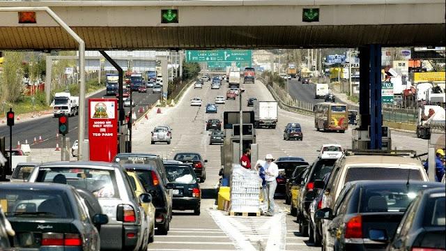 3.500 αυτοκίνητα κατέβηκαν στην Πελοπόννησο μόνο την Παρασκευή