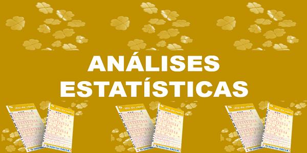 Estatísticas dia de sorte 213 análises dos números