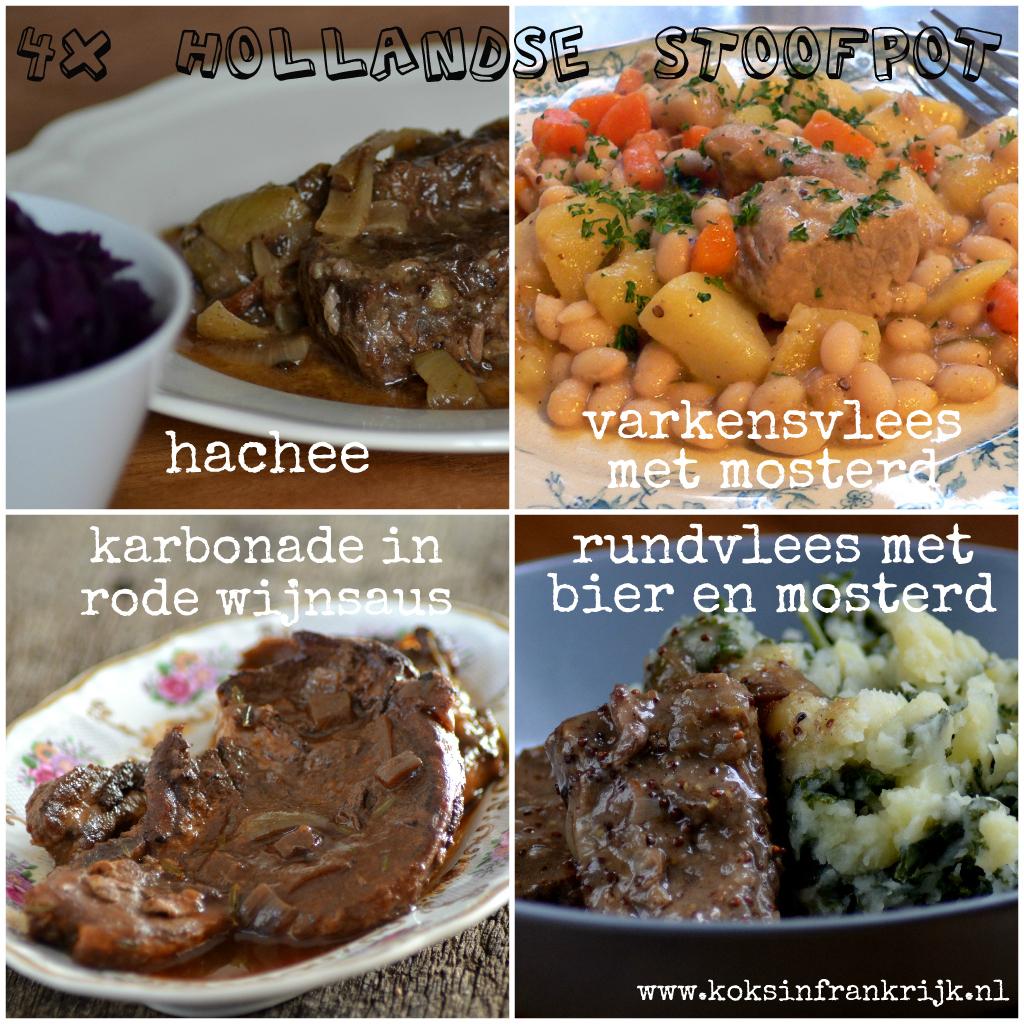 Recept voor een ouderwets lekkere Hollandse stoofpot- met rundvlees of varkensvlees
