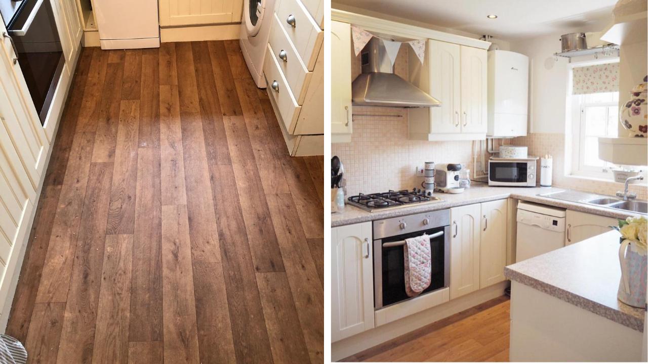 how to lay vinyl floor tiles revamp a