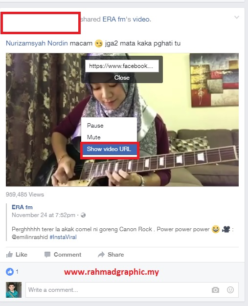 Cara Mudah Download Video Facebook Tanpa Software