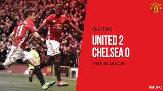 Manchester United Bekuk Chelsea 2-0