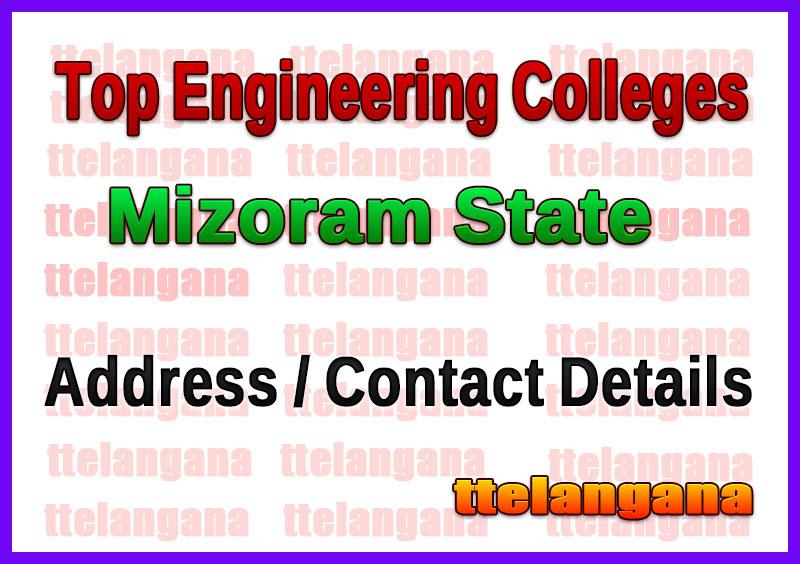 Top Engineering Colleges in Mizoram